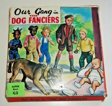 OUR GANG IN THE DOG FANCIERS VINTAGE SUPER 8mm HOME MOVIE FILM REEL RARE   D776