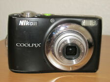 Nikon CoolPix L24 14.0MP Digital Camera - Good Condition - Fully Working