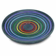 Räucherstäbchenhalter Regenbogen aus Speckstein mit Regenbogenfarben