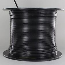 BLACK ~ Lamp Cord ~ 2 Wire ~ 18 gauge { 250 Ft. Roll } for Parts & Repair by PLD