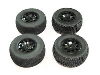 NEW TEAM ASSOCIATED SC10 2WD Wheels & Tires Set 12mm Hex SC10B SC10.3 AT15
