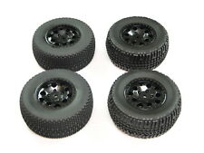 NEW TEAM ASSOCIATED SC10 2WD Wheels & Tires Set 12mm Hex SC10B SC10.3 AT15