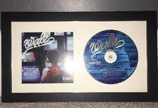 WALE SIGNED ATTENTION DEFICIT CD ALBUM FRAMED RAPPER AUTOGRAPH (Rick Ross Drake)