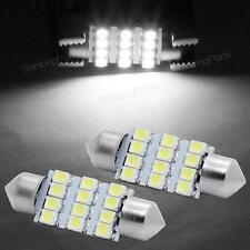 2x 6418 C5W LED Bulbs 36mm Festoon Car Interior Dome Map Lights Bulbs