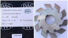 Viertelrund-Profilfräser konkav DIN 6513R 16 H11 Ø125js16x24xØ32H7