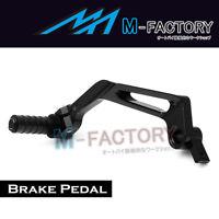 Black Billet CNC Black Rear Brake Pedal For Ducati 848 1098 1198 S R