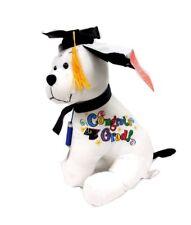 Graduation Autograph Hound Dog Toys Grad Students Gift Toys Party w/ Pen