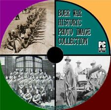 2600+ VINTAGE BOER WAR IMAGES ARCHIVE PC-CD MAPS BADGES EQUIPMENT HISTORY NEW