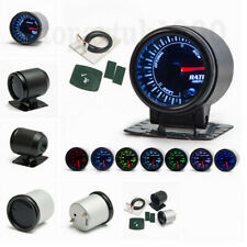 "12V Dia. 2""/52mm Air fuel ratio gauge 7 Colors backlights LED Car Meter"