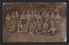 More details for real photo postcard 29th reigate & leigh scout troop 1915-16 with named members