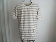 Nwt Lacoste Crew-neck Short Sleeve Slim Fit Strip T-Shirt Size M (5) $75