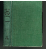 Ballads and Barrack Room Ballads by Rudyard Kipling 1899 Vintage Later Edition!