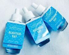 3 Bath & Body Works Beautiful Day Wallflower Home Oil Refills Bulb