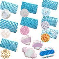 Fondant Embossing Cookies Icing Cutters Cake Mold Decorating Baking Mould Tools