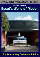 Walt Disney World Epcot World of Motion 2 DVD Set - FULL Rides, TransCenter