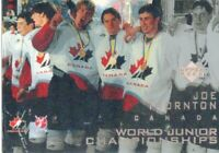 1996-97 UPPER DECK ICE #116 JOE THORNTON RC 🔥🔥