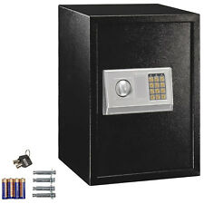 Electronic Digital Pin or Key Keypad Storage Office Wall Floor Gun Safe Lock box