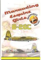Bombshell 1/72 decal B-26C Marauder Esquire Girls Hasegawa 72-BS-0007