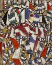 Art Fabric HD Print Oil Painting Fernand Léger Contrast of Forms Wall Decor