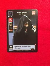 STAR WARS YOUNG JEDI CCG DARTH SIDIOUS LORD OF THE SITH RARE NM/M