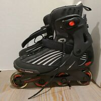 Mens Rollerblade EVO05 Cross Training Inline Skates Size Vented Abec 80mm Sz 11