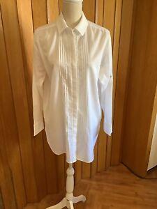 weiße Bluse von Stefanel Gr. S