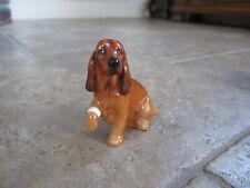 Ec Vintage Royal Doulton Dog Figurine Cute Injured Cocker Spaniel
