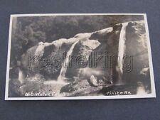 Hot Water Falls Tikitere NZ New Zealand RPPC Postcard