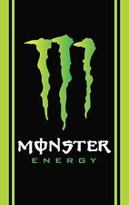 Monster EnergyPVC Plastic Banner 950x1500mm  FREE Delivery