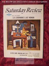 Saturday Review September 30 1967 K. STOCKHAUSEN JUDY GARLAND ILYA EHRENBURG