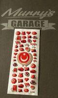 Türkei, Türkiye, Atatürk, Aufkleber Set Ay Yildiz, Étiquette Autocollant Sticker