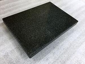 1 Paar Gerätebasis Entkopplungsplatte Lautsprecher Granit Stein Platte anthrazit