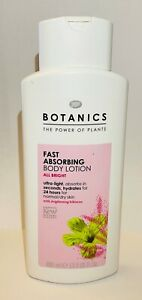 Boots Botanics Fast Absorbing All Bright With Hibiscus Body Lotion - 400ml