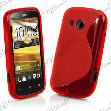 Case Cover TPU Silicone GEL Soft S Grounds Wave HTC Desire C A320E G7C