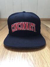 vintage cincinnati bearcats snapback hat adult size M-L new era deadstock NWOT