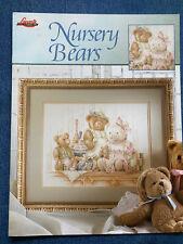 Nursery Bears - Lanarte Cross Stitch Chart 2003 - NEW
