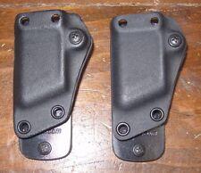 Set of 2 pair G-CODE 1911 45 single mag carrier holder black magazine FITS Colt