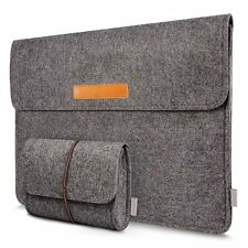 "Inateck MP1300D 13-13.3"" Inch MacBook Pro Case Felt Laptop Sleeve iPad Pro Cover"