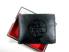 Guess Men's Wallet RFID Blocking Security Front Pocket Black 31GO220039 $42