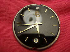 Mans Black Diamond Dial Quartz Watch Movement Lot 371