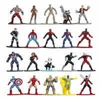 Jada Toys Marvel Nano METALFIGS 20-Pack Wave 1 Die-Cast Figures 1.65-Inches