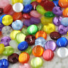 New 10/50/100/500pcs Cat's Eye button craft/sewing/baby lot mix PT82