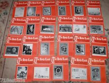 22 issues of THE HOLY LAND PHILATELIST ISRAEL'S STAMP MONTHLY 1954-1959