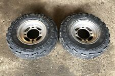 2003 Polaris Predator 500 Itp Front Wheels Rims With Tires Good Condition 03-07