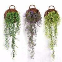 feuille  lierre faux fleur en soie artificielle pendre garland mariage home déco