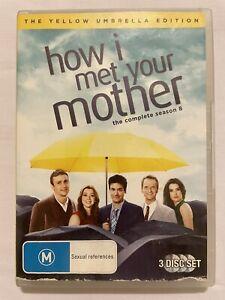 How I Met Your Mother : Season 8 (DVD, 2013, 3-Disc Set) R4