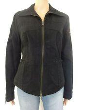 Veste jeans BLEU DE SYM Taille L 42 déco dentelle perles  Femme