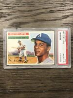 1956 Topps Hector Lopez PSA 8 White Back Rookie RC #16