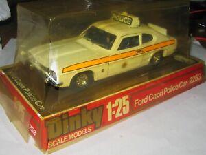Dinky Toys - No. 2253  - FORD CAPRI POLICE CAR 1:25 - MIB