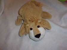"dream hand puppet cute plush lovey animal stuffed 9"" tan lion animal"